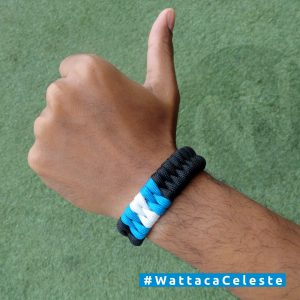Pulsera Black Celeste Club Sporting Cristal