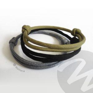 Pack Urb Minimalista Plomo-Negro-Beis