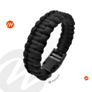 Pulsera Cobra Black Paracord