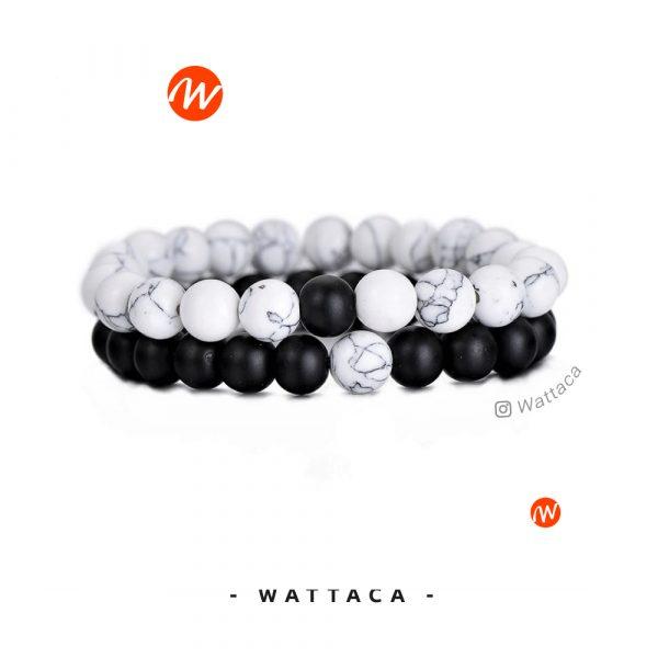 Pack para Parejas Distancia Piedras Onix/Howlita Wattaca