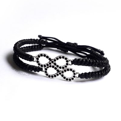 Pack Pulseras Infinitos Black Hole Snake