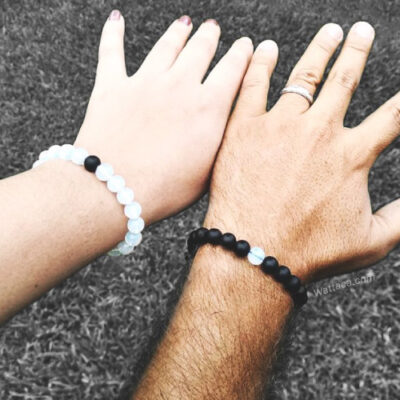 Pack Pulseras BlackWhite Distancia