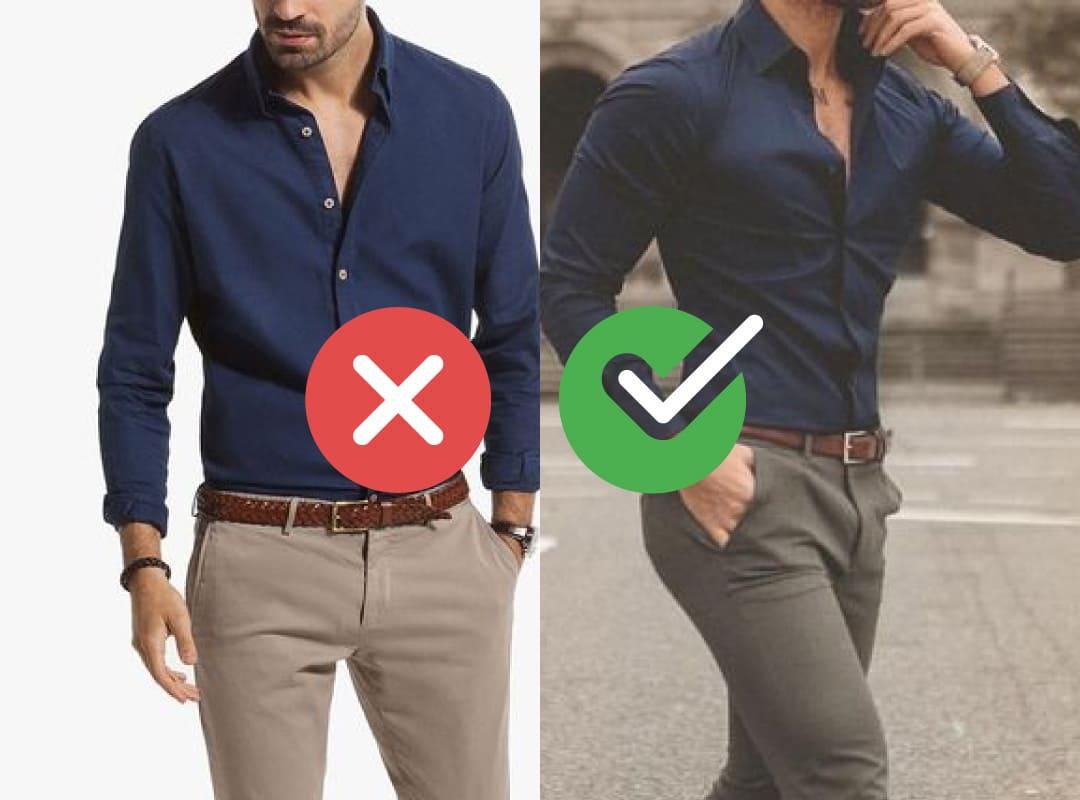6 trucos para camisas que te harán ver irresistible