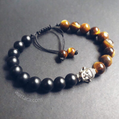 Pulsera Buda Onix Ojo de Tigre