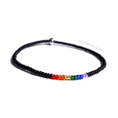Pulsera Pride LGBT Minimalista