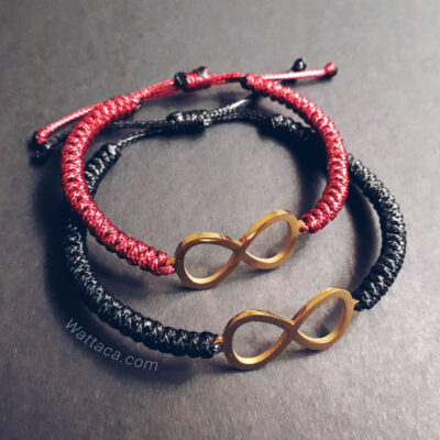 Pack Pulseras Infinitos Golden Snake