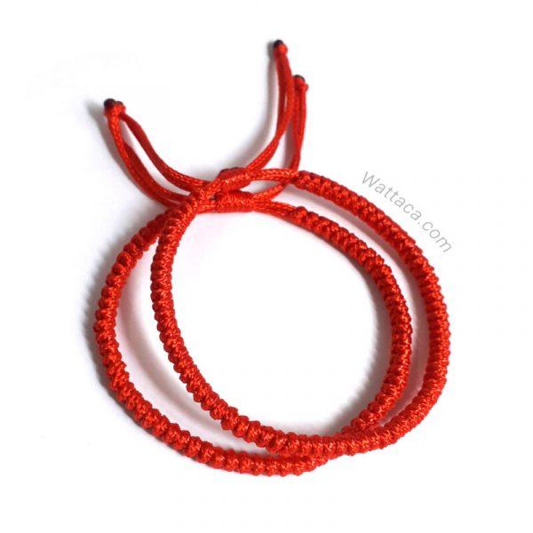 Pulseras Rojas para parejas en wattaca
