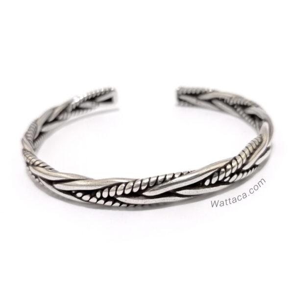 pulsera de plata para hombres en wattaca peru